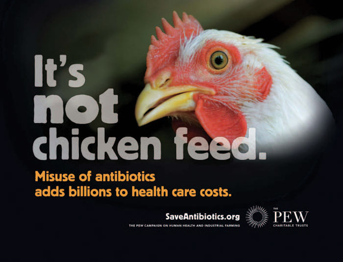 It's not chicken feed.