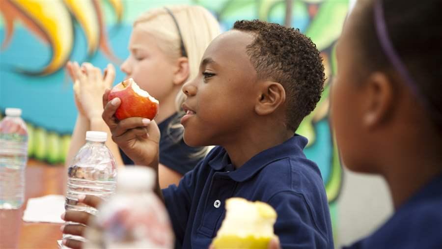 school meal programs reducing obesity