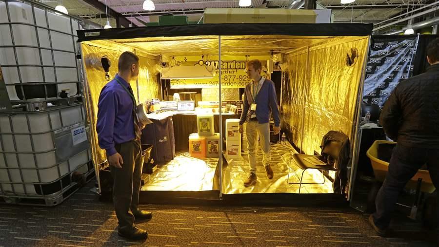 247Garden, a wholesale distributor of indoor garden and hydroponics growing  supplies, exhibits a growing